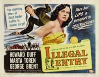 Illegal Entry - 11 x 14 Movie Poster - Style A