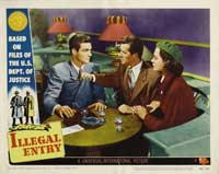 Illegal Entry - 11 x 14 Movie Poster - Style G