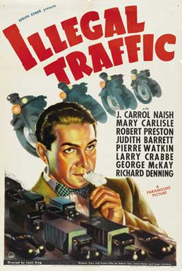 Illegal Traffic - 11 x 17 Movie Poster - Style B