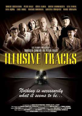 Illusive Tracks - 11 x 17 Movie Poster - Style A