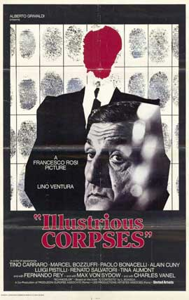 Illustrious Corpses - 11 x 17 Movie Poster - Style A