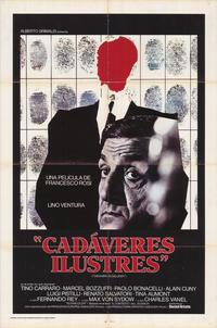 Illustrious Corpses - 27 x 40 Movie Poster - Spanish Style A