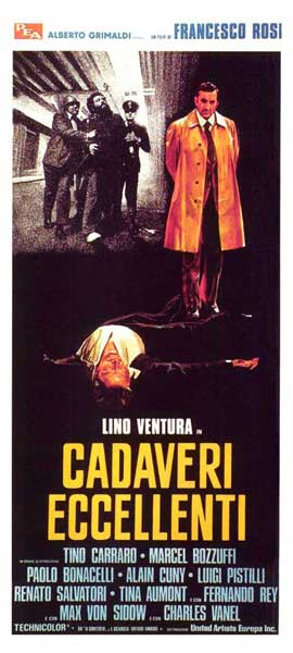 Illustrious Corpses - 11 x 17 Movie Poster - Italian Style A