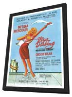 Illya Darling (Broadway) - 11 x 17 Poster - Style A - in Deluxe Wood Frame