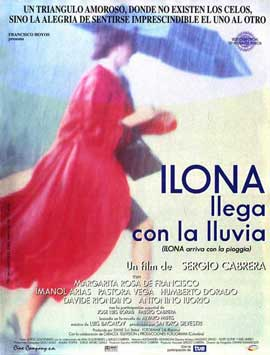 Ilona Arrives with the Rain - 11 x 17 Movie Poster - Spanish Style A