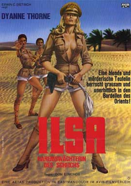 Ilsa, Harem Keeper of the Oil Sheiks - 11 x 17 Movie Poster - German Style A