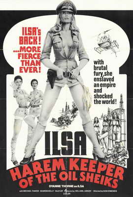 Ilsa, Harem Keeper of the Oil Sheiks - 27 x 40 Movie Poster - Style A
