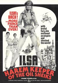 Ilsa, Harem Keeper of the Oil Sheiks - 43 x 62 Movie Poster - Bus Shelter Style A