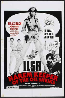 Ilsa, Harem Keeper of the Oil Sheiks - 27 x 40 Movie Poster - Style B