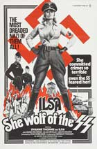 Ilsa, She Wolf of the SS - 11 x 17 Movie Poster - Style E