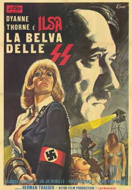Ilsa, She Wolf of the SS - 11 x 17 Movie Poster - Italian Style A