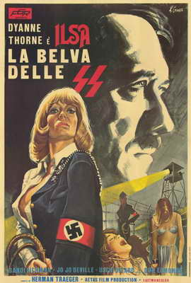 Ilsa, She Wolf of the SS - 27 x 40 Movie Poster - Italian Style A
