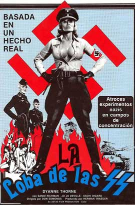 Ilsa, She Wolf of the SS - 11 x 17 Movie Poster - German Style B