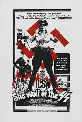Ilsa, She Wolf of the SS - 27 x 40 Movie Poster - Style B