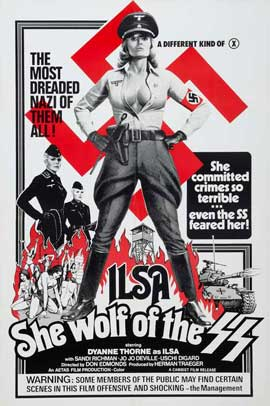Ilsa, She Wolf of the SS - 11 x 17 Movie Poster - Style D