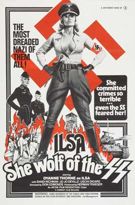 Ilsa, She Wolf of the SS - 43 x 62 Movie Poster - Bus Shelter Style A