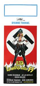 Ilsa: She Wolf of the SS - 13 x 28 Movie Poster - Italian Style A