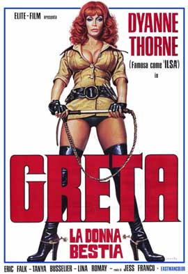 Ilsa, The Wicked Warden - 11 x 17 Movie Poster - Italian Style A
