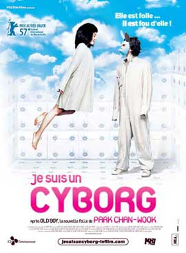 I'm a Cyborg, But That's OK - 11 x 17 Movie Poster - French Style A