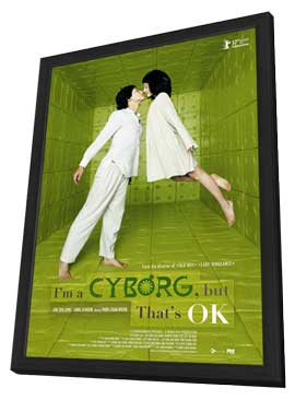 I'm a Cyborg, But That's OK - 11 x 17 Movie Poster - Style A - in Deluxe Wood Frame