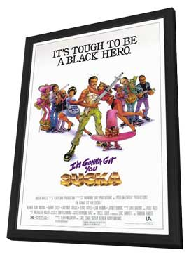 I'm Gonna Git You Sucka - 11 x 17 Movie Poster - Style A - in Deluxe Wood Frame