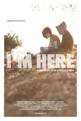 I'm Here - 43 x 62 Movie Poster - Bus Shelter Style A