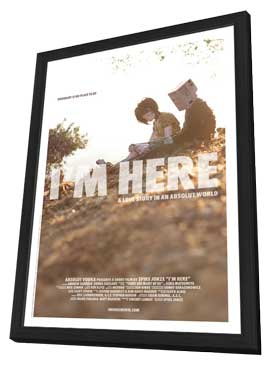 I'm Here - 11 x 17 Movie Poster - Style A - in Deluxe Wood Frame