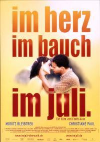 Im Juli. - 11 x 17 Movie Poster - German Style B