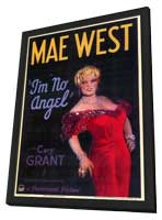 I'm No Angel - 11 x 17 Movie Poster - Style A - in Deluxe Wood Frame