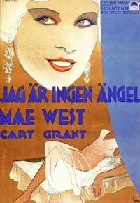 I'm No Angel - 11 x 17 Movie Poster - Swedish Style B