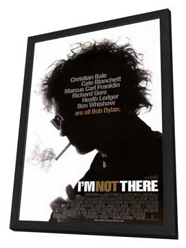 I'm Not There - 27 x 40 Movie Poster - Style A - in Deluxe Wood Frame