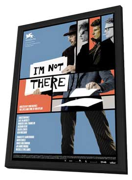 I'm Not There - 11 x 17 Movie Poster - Style C - in Deluxe Wood Frame