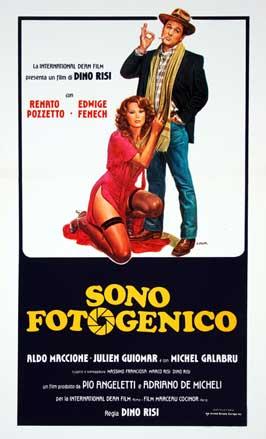 I'm Photogenic - 11 x 17 Movie Poster - Italian Style A