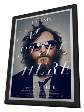 I'm Still Here - 27 x 40 Movie Poster - Canadian Style A - in Deluxe Wood Frame