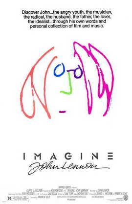Imagine John Lennon - 11 x 17 Movie Poster - Style A
