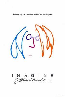 Imagine John Lennon - 11 x 17 Movie Poster - Style B