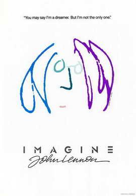 Imagine John Lennon - 11 x 17 Movie Poster - Style D