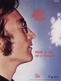 Imagine John Lennon - 11 x 17 Movie Poster - Style E