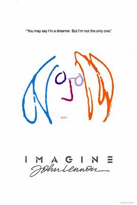 Imagine John Lennon - 27 x 40 Movie Poster - Style A