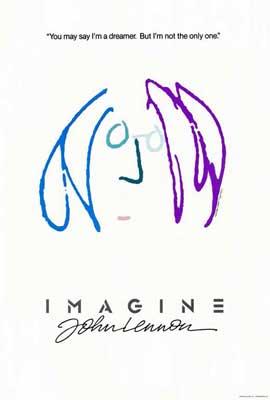 Imagine John Lennon - 27 x 40 Movie Poster - Style D