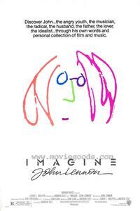 Imagine John Lennon - 27 x 40 Movie Poster - Style C