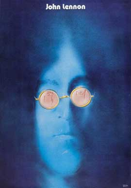 Imagine John Lennon - 11 x 17 Movie Poster - Polish Style F