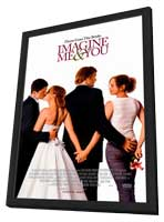 Imagine Me & You - 11 x 17 Movie Poster - Style A - in Deluxe Wood Frame
