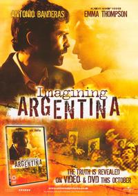 Imagining Argentina - 27 x 40 Movie Poster - Style A