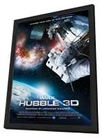 IMAX: Hubble 3D - 11 x 17 Movie Poster - Style A - in Deluxe Wood Frame