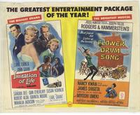 Imitation of Life / Flower Drum Song - 11 x 14 Movie Poster - Style A