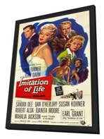 Imitation of Life - 11 x 17 Movie Poster - Style A - in Deluxe Wood Frame