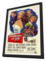 Imitation of Life - 27 x 40 Movie Poster - Style A - in Deluxe Wood Frame
