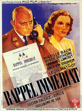 Immediate Call - 11 x 17 Movie Poster - French Style A