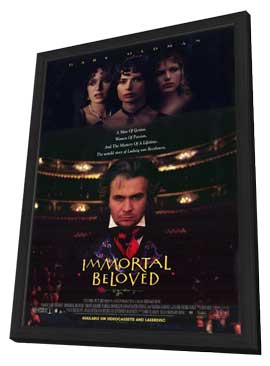 Immortal Beloved - 11 x 17 Movie Poster - Style B - in Deluxe Wood Frame